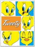 Tweety character vector cartoon