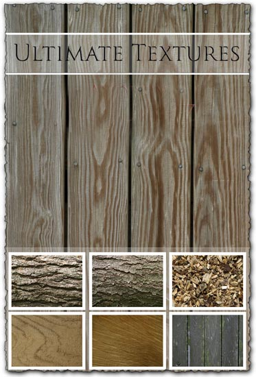 Wood and parquet textures