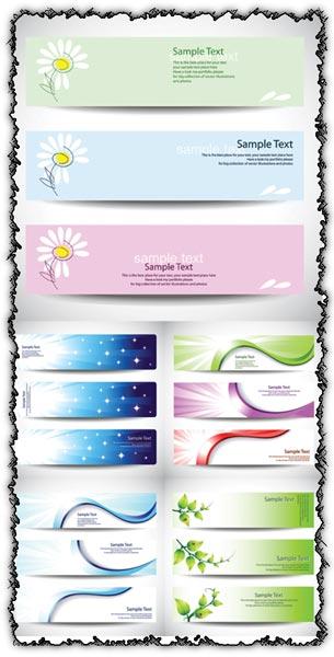 Vector banners design