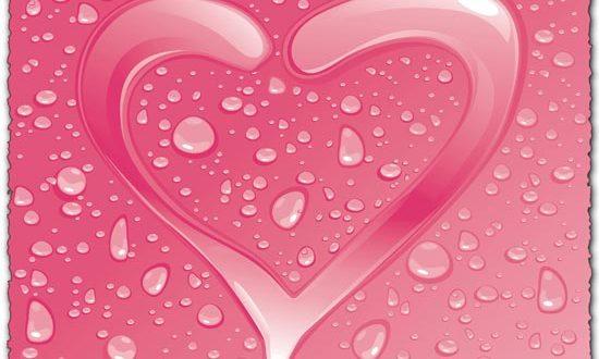 Heart shape free eps vector