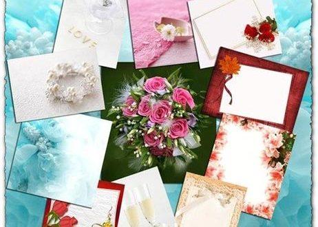 Wedding background frame images