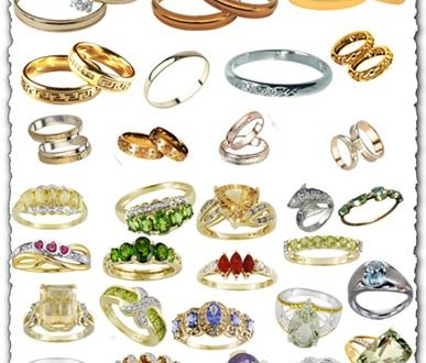 Wedding rings png collection