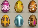 Easter vector eggs
