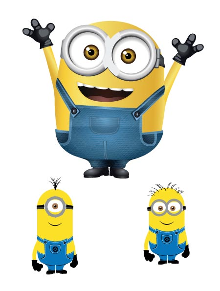 Minion vector free download