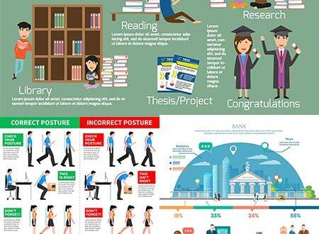 People health education vectors